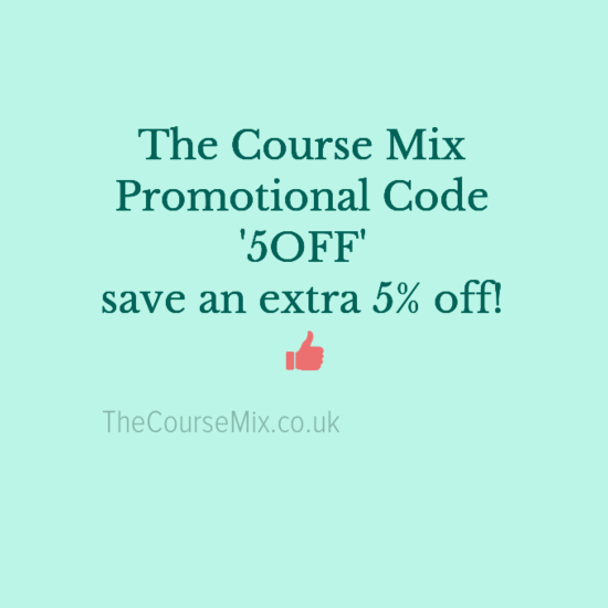 Promotional code for online courses with the course mix promotional code for the course mix fandeluxe Gallery